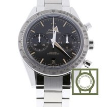 Omega Speedmaster 57 Chronograph Automatic Black Dial Stainles...