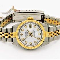 Rolex 26mm Remontage automatique occasion Lady-Datejust Blanc