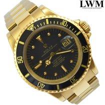 Rolex Submariner 1680 black dial yellow gold Full Set 1975