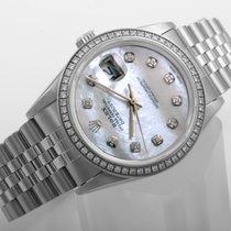 Rolex Datejust 16014-MOP-Diam-Bez 1980 usados