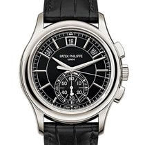 Patek Philippe Platinum Automatic 42mm new Annual Calendar Chronograph