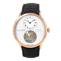 Arnold & Son UTTE Rose gold 42mm Silver United States of America, New York, New York