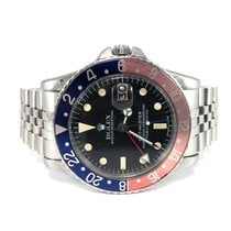 Rolex GMT-Master Steel 40mm Black No numerals Finland, HELSINKI