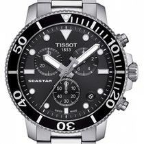 Tissot Seastar 1000 Steel 45.5mm Black No numerals