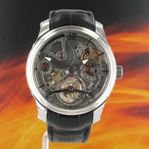 Greubel Forsey Double Tourbillon 30° Platinum 47mm Transparent