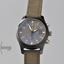 IWC Pilot Chronograph Top Gun Miramar Steel 46mm Brown