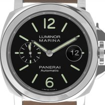 Panerai Luminor Marina Automatic neu Automatik Uhr mit Original-Box und Original-Papieren PAM01104