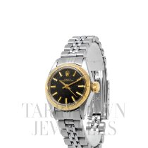 Rolex Oyster Perpetual 26 Acero y oro 26mm Negro