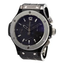 Hublot Ceramic Automatic Black No numerals 44mm pre-owned Big Bang 44 mm