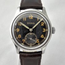 Doxa Steel 33.5mm Manual winding pre-owned United Kingdom, Leicester
