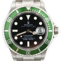 Rolex Submariner Date Otel 40mm Verde Fara cifre