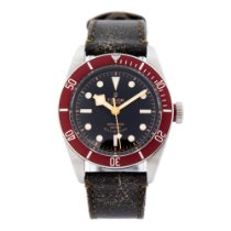 Tudor Black Bay pre-owned 41mm Black Leather