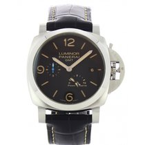 Panerai Luminor 1950 3 Days GMT Power Reserve Automatic Steel 44mm Black