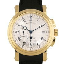 Breguet Yellow gold 42mm Automatic 5827BA/12/5ZU pre-owned