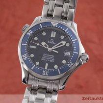 Omega Seamaster Steel 36.5mm Blue
