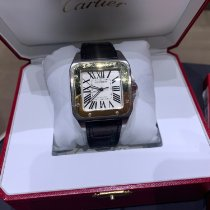 Cartier Santos 100 W20072X7 Good Steel 38mm Automatic Australia, sydney