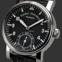 Thomas Ninchritz Steel 42mm Manual winding NI 2000.1 new
