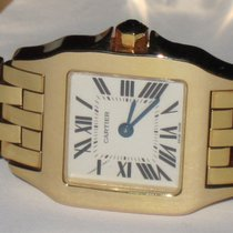 Cartier Santos Demoiselle new Quartz Watch with original box and original papers W25063X9