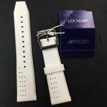 Locman Bracciale strap cinturino gomma rubber 20 nuovo new