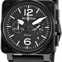 Bell & Ross BR 03-94 Chronographe Steel Black United States of America, New York, Brooklyn
