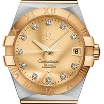 Omega Constellation Men Gold/Steel 38mm Champagne United States of America, New York, Airmont