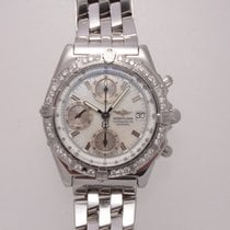 Breitling Chronomat Steel Mother of pearl No numerals