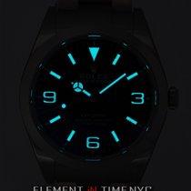 Rolex Explorer I 39mm 2016 Blue Luminescence Dial