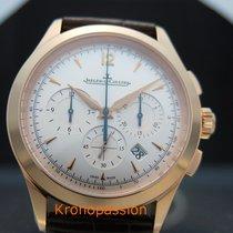 Jaeger-LeCoultre Master Chronograph Ruzicasto zlato 40mm Srebro Bez brojeva