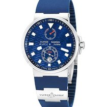 Ulysse Nardin 263-68LE-3 Maxi Marine Chronometer Blue Wave -...