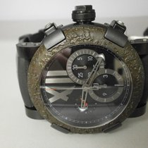 Romain Jerome Titanic Dna Black Pvd Rusted S/s Chrono Ch.t.oxy...