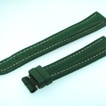 Breitling Band 19mm Green Verde Calf Strap Ib19-11