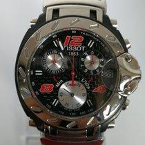 Tissot NASCAR t90.4.496.82 CHORNOGRAPH RARE 42MM special edition