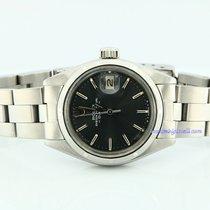 Rolex Oyster Perpetual Lady Date Stahl 26mm Grau Keine Ziffern