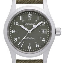 Hamilton Khaki Field Officer new 2019 Manual winding Watch with original box and original papers H69419363