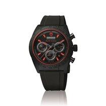 Tudor Fastrider Black Shield neu Automatik Chronograph Uhr mit Original-Box und Original-Papieren M42000CR-0001