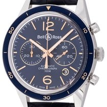 Bell & Ross BR V1 Steel 43mm Blue Arabic numerals United States of America, Texas, Austin