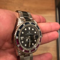 Rolex 116759SARU Or blanc GMT-Master II 40mm
