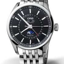 Oris 42mm Automatisk 2019 ny Artix Complication Svart