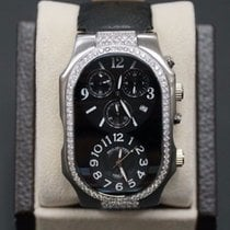 Philip Stein 57mm Quartz 2000 pre-owned Teslar Black