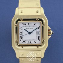 Cartier Santos Galbée pre-owned Yellow gold