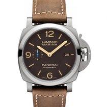 沛納海 Luminor Marina 1950 3 Days Automatic 新的 自動發條 附正版包裝盒和原版文件的手錶 PAM01351