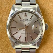 Rolex Oyster Perpetual Date Staal 34mm Grijs Geen cijfers Nederland, Rotterdam