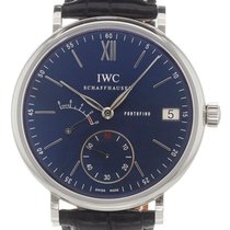 IWC Portofino Hand-Wound Steel 45mm Blue Roman numerals United States of America, Florida, Hollywood