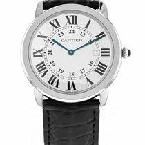 Cartier Stål 36mm Kvarts W6700255 brukt