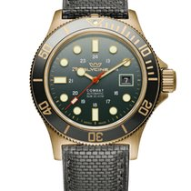 Glycine Combat SUB Bronze 42mm Green No numerals