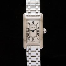 Cartier White gold 19mm Quartz 2489 pre-owned