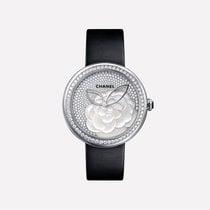 Chanel Mademoiselle nouveau 2019 Quartz Montre avec coffret d'origine et papiers d'origine H4319