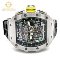 Richard Mille new Automatic 44.50mm Titanium Sapphire Glass