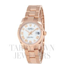 Rolex Rose gold Automatic White Roman numerals 31mm new Datejust