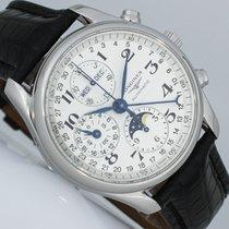 Longines Master Collection Ocel 40mm Stříbrná Arabské